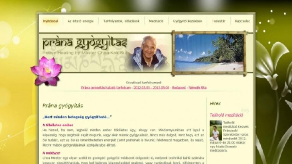 Honlapfelújítás, honlap újratervezés [pranatanfolyam.hu]