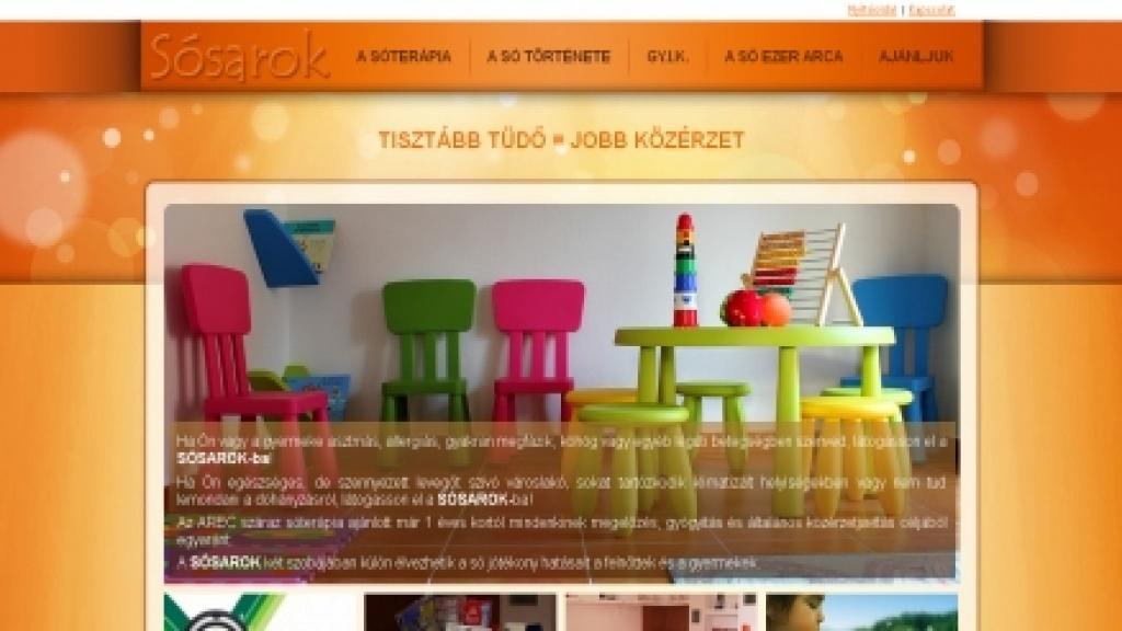 Webgrafika készítés, honlap arculattervezés - [sosarok]