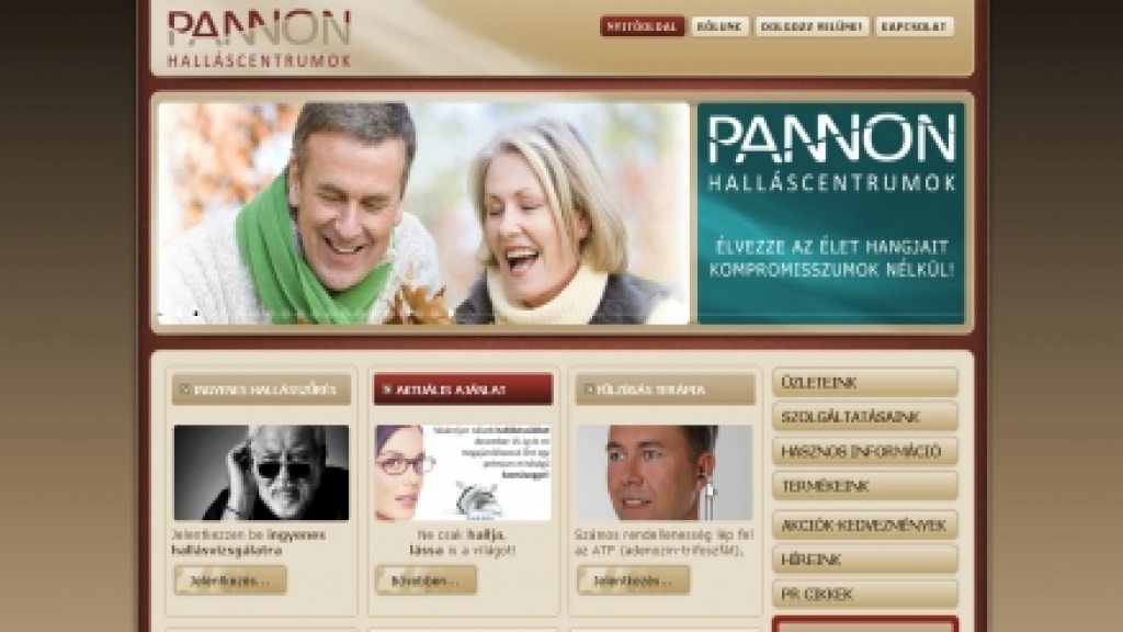 Webgrafika tervezés, Joomla sablon készítés - [pannonhallas]