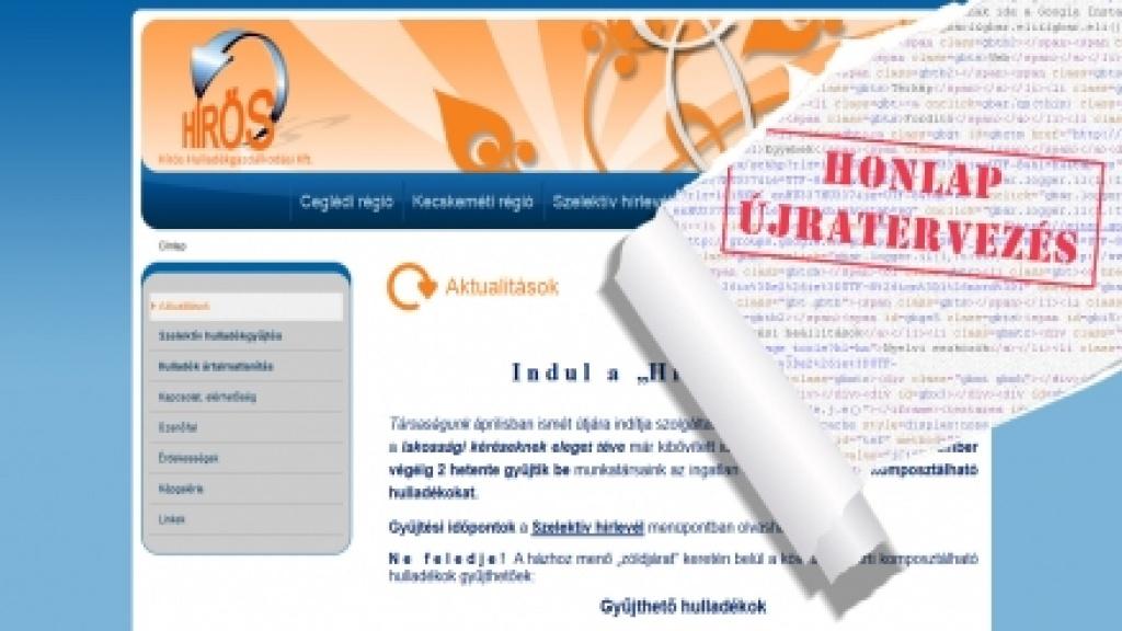 Joomla 1.5 honlap frissítése és felújítása [hiroshulladek.hu]